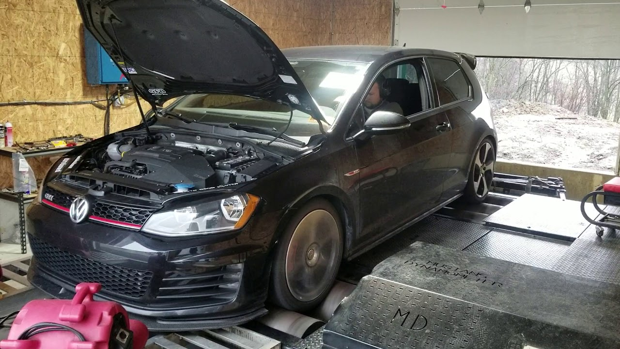 MK7 GTI full bolt on is38 tuned by TPG Tuning
