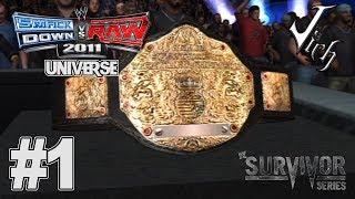 SmackDown vs. RAW 2011 Universe Mode   Part 1 - Survivor Series 2009
