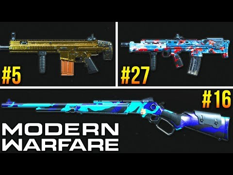 Modern Warfare: RANKING Every Weapon In The Game