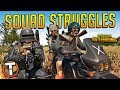 SQUAD STRUGGLES - PLAYERUNKNOWN'S BATTLEGROUNDS (PUBG)