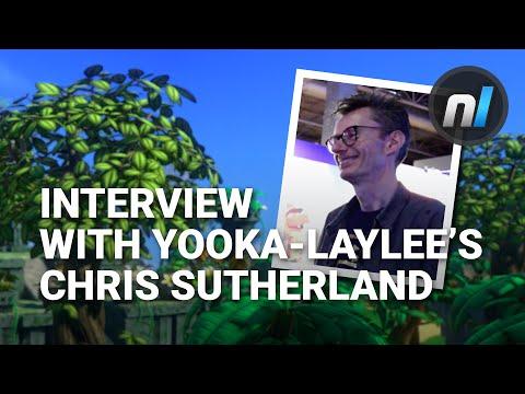 Alex Speaks to Chris Sutherland About Yooka-Laylee on Wii U | EGX 2016