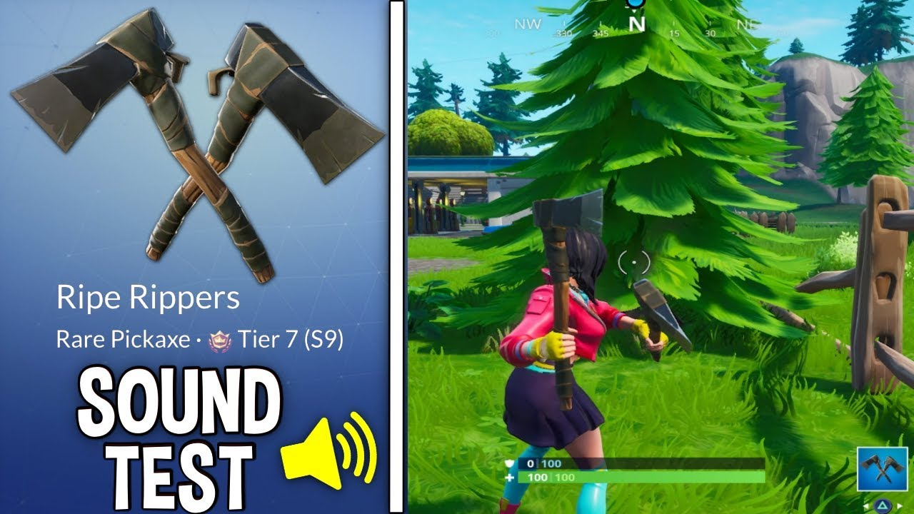 NEW RIPE RIPPERS PICKAXE Gameplay in Fortnite!