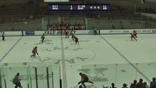 RIT Men's Hockey Highlights at Sacred Heart, 2-18-18