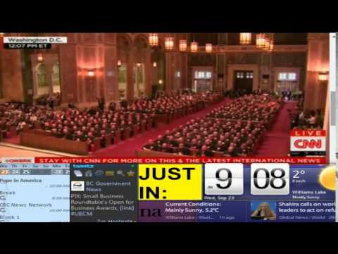 The Pope in America Coverage - Part 1 - Lake City TV