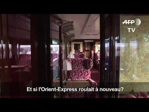 Le Mythique Orient-Express Se Visite à Paris I AFP News