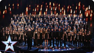 Welsh choir Côr Glanaethwy raise the roof | Semi-Final 1 |...
