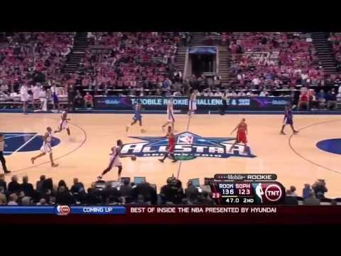 2010 T-Mobile Rookie Challenge Best Plays