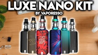 LUXE NANO KIT REVIEW - By Vaporesso