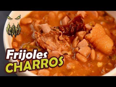 Los FRIJOLES CHARROS más Perrones !! + Agua Fresca TOQUE Y SAZÓN