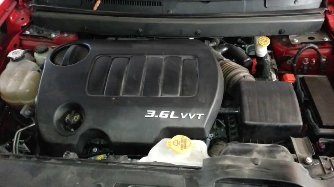 2013 Dodge Journey  Pentastar 36L V6 Engine Idling After Oil Change & Filter Replacement  YouTube