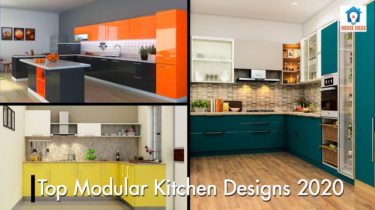 New Modular Kitchen Designs 2020 Best Kitchen Interior Designs House Ideas Youtube