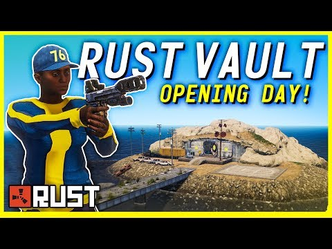 Recruiting ROLEPLAYERS to our VAULT HOTEL - Rust Shop Series E1
