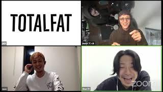 TOTALFAT ZOOM生配信!メンバーの近況報告、そして新曲リリース発表!