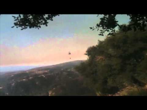 Cave Fire in Santa Barbara County Threatens Homes and Forces ...