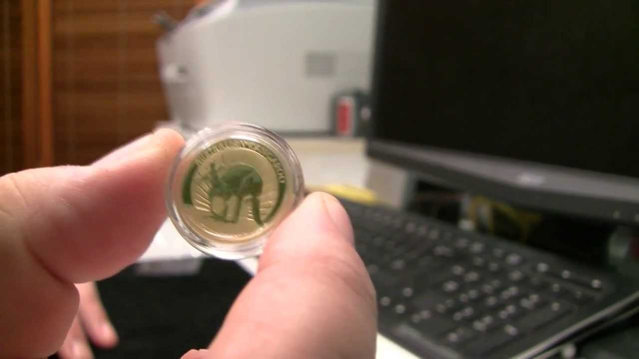 Unboxing 2011 1 4 Ounce Gold Australian Kangaroo Youtube
