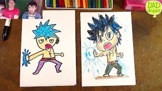 How to Draw Gray Fullbuster | Fairy Tail