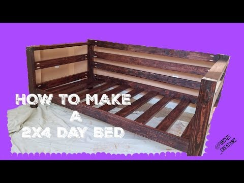 DIY 2X4 DayBed Assembly