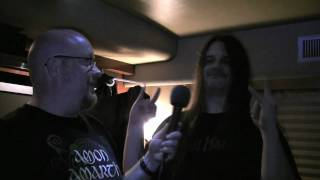 Talking football with Brian Slagel & Corpsegrinder Part 1