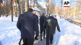 Communist Party Presidential Candidate Pavel Grudinin Votes