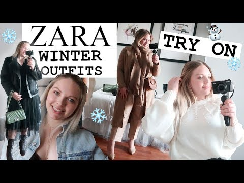 ZARA WINTER COLD WEATHER Outfits | 7 OOTDS | High End Winter Looks
