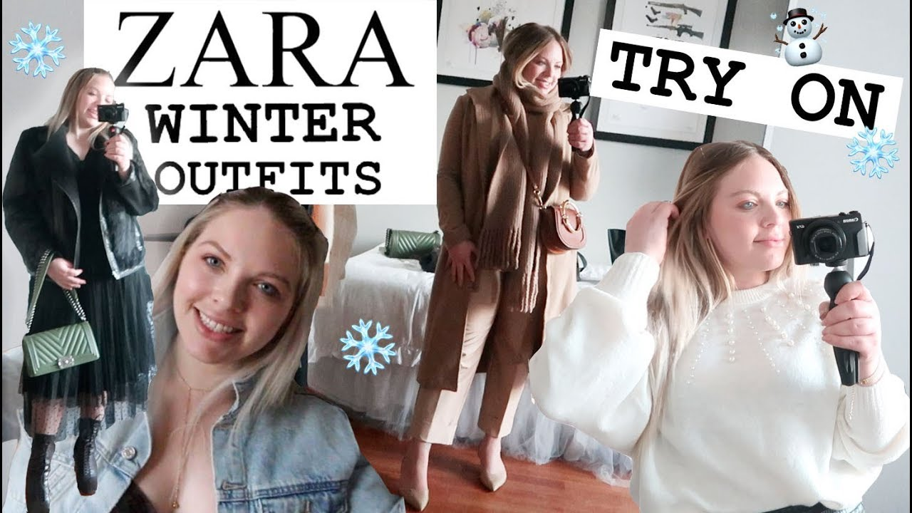 [VIDEO] - ZARA WINTER COLD WEATHER Outfits | 7 OOTDS | High End Winter Looks 2