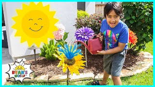 Photosynthesis educational video for kids with Ryan's World!!