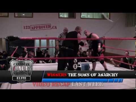 CWE Wrestling TV Winnipeg  Episode 12