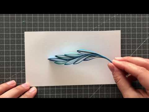 Feather Quilling Tutorial