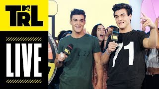 The Dolan Twins, Fatboy SSE, Hayley Kiyoko & JoAnna Garcia Swisher Today! | #TRL