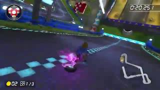 BoTW Link Gameplay (Mario Kart 8 Deluxe DLC)