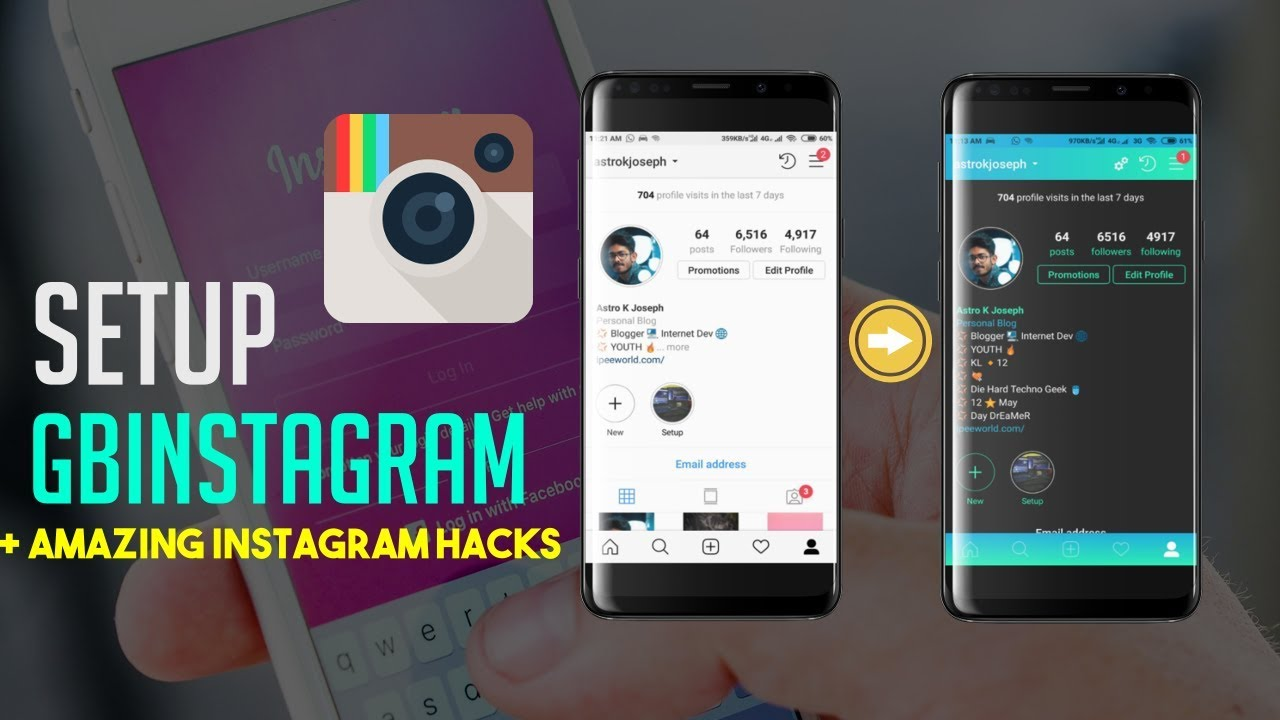 GB INSTAGRAM BLACK MOD APK - GB Instagram APK Download For