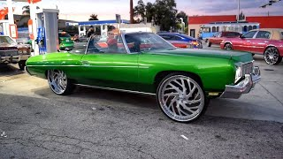 MLK weekend 2021--St.Petersburg & Miami, FL: In the streets Pt.1 (Donks, Big rims, Amazing cars)