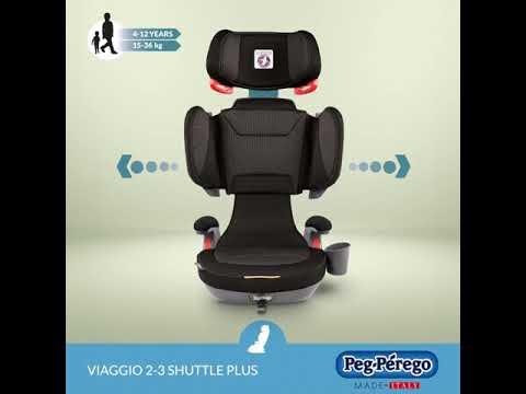 Peg Perego Viaggio 2-3 Shuttle Plus Gyerekülés 15-36 Kg