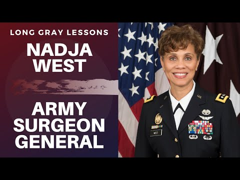 003 Long Gray Lessons With Former Army Surgeon General Lieutenant General (R) Nadja West
