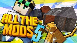Minecraft All the Mods 5 - CAT SHACK #2 (Minecraft Modded)