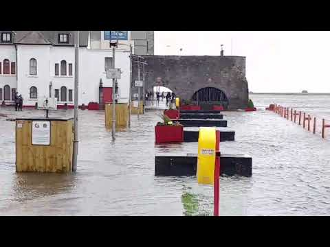 Huragan Ophelia w Galway cz. 2