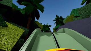 Jurassic Park The Ride At Universal Studios Roblox NOW OPEN