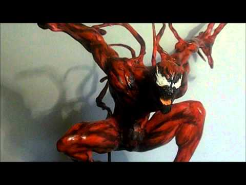 The amazing Spiderman- CARNAGE SCULPTURE!
