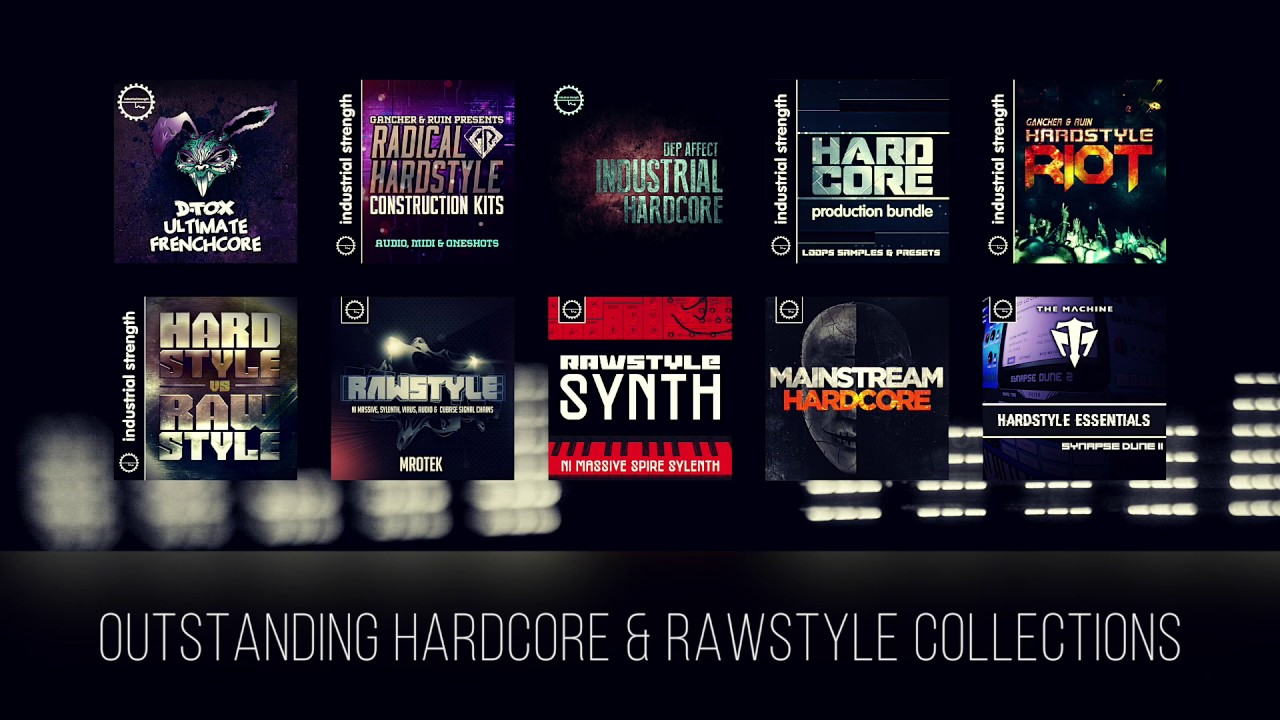 Hardcore & Rawstyle Sample Collections - Industrial Strength Records #1