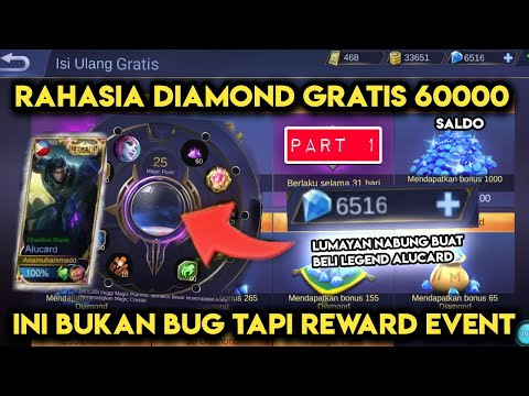 download 60000 DIAMOND SALDO GRATIS MOBILE LEGENDS BUKAN BUG TAPI REWARD - MOBILE LEGENDS