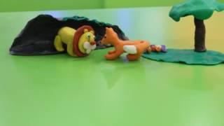 Пластилиновый мультфильм по басне И.А. Крылова