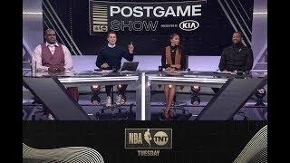 The Crew Talks Anthony Davis' Dominant Performance in LA! | NBA on TNT
