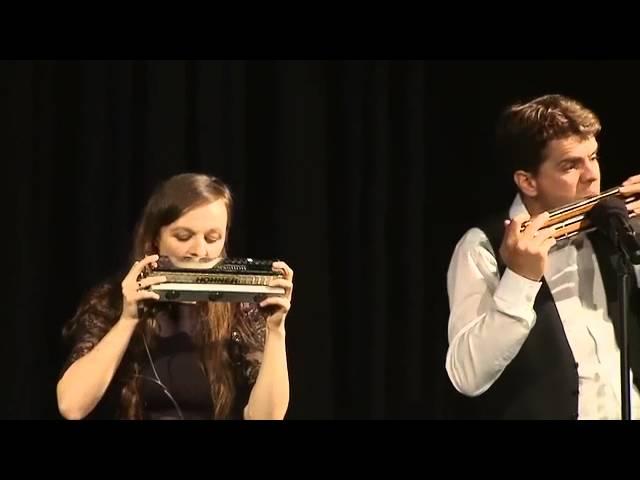 Violine Saitenhalter Abgerundet Mundharmonika Modell Palm Holz