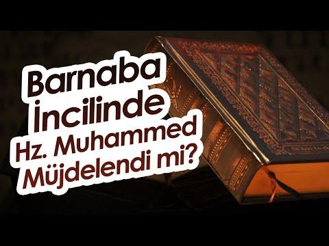 Barnaba İncilinde Hz.