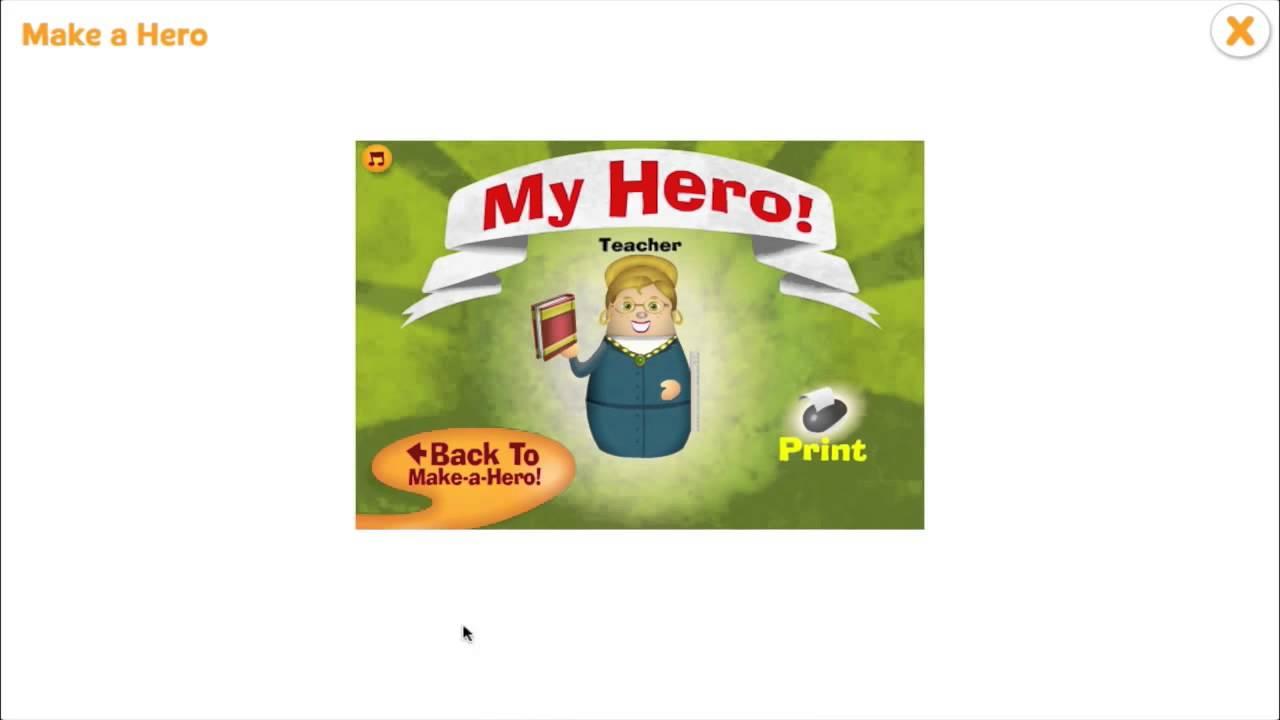 Make a hero character