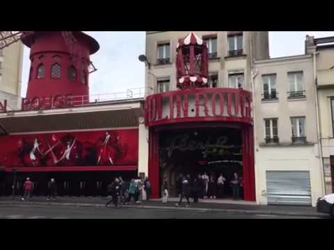 Montmarte, Moulin Rouge; Paris, France - Day 10