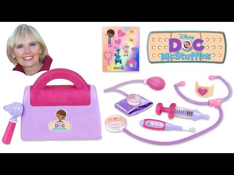 ♥♥ Doc McStuffins Doctor's Bag Set