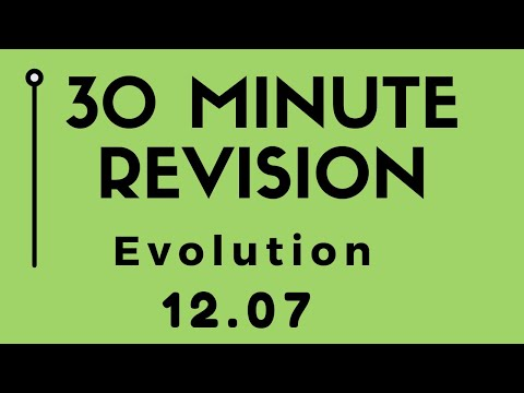 Chapter 7, EVOLUTION (30 min NCERT revision/HINDI) thumbnail