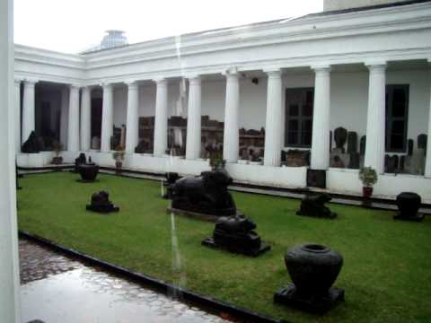 Jakarta, National Museum ~ In the Rain...