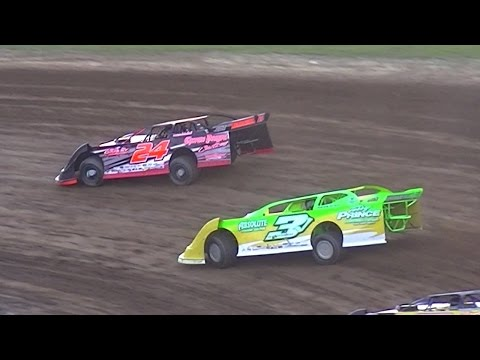 RUSH Crate Late Model Heat Two | McKean County Raceway | 8-18-16